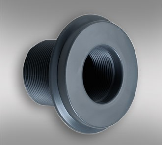 Suction Inlet Dark Grey - 2""