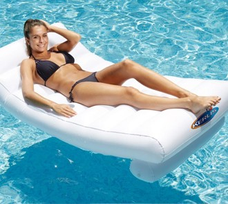 Double Sided Lounger (Matelas R/V)